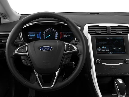 2016 Ford Fusion Se In Augusta Me Quirk Of