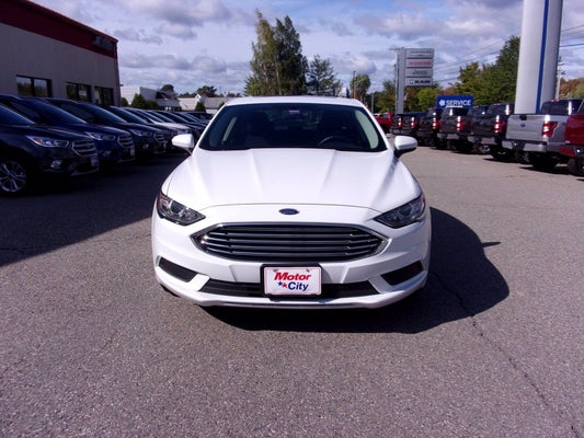 2017 Ford Fusion Se In Hallowell Me Portland Ford Fusion